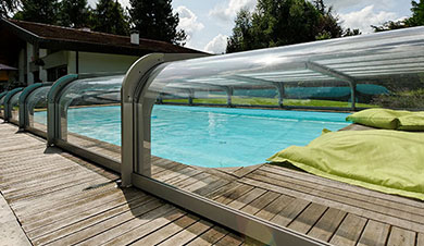 pool house pour piscine